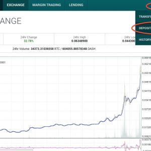 仮想通貨DASHを購入する手順を紹介(Poloniex取引所で簡単購入)